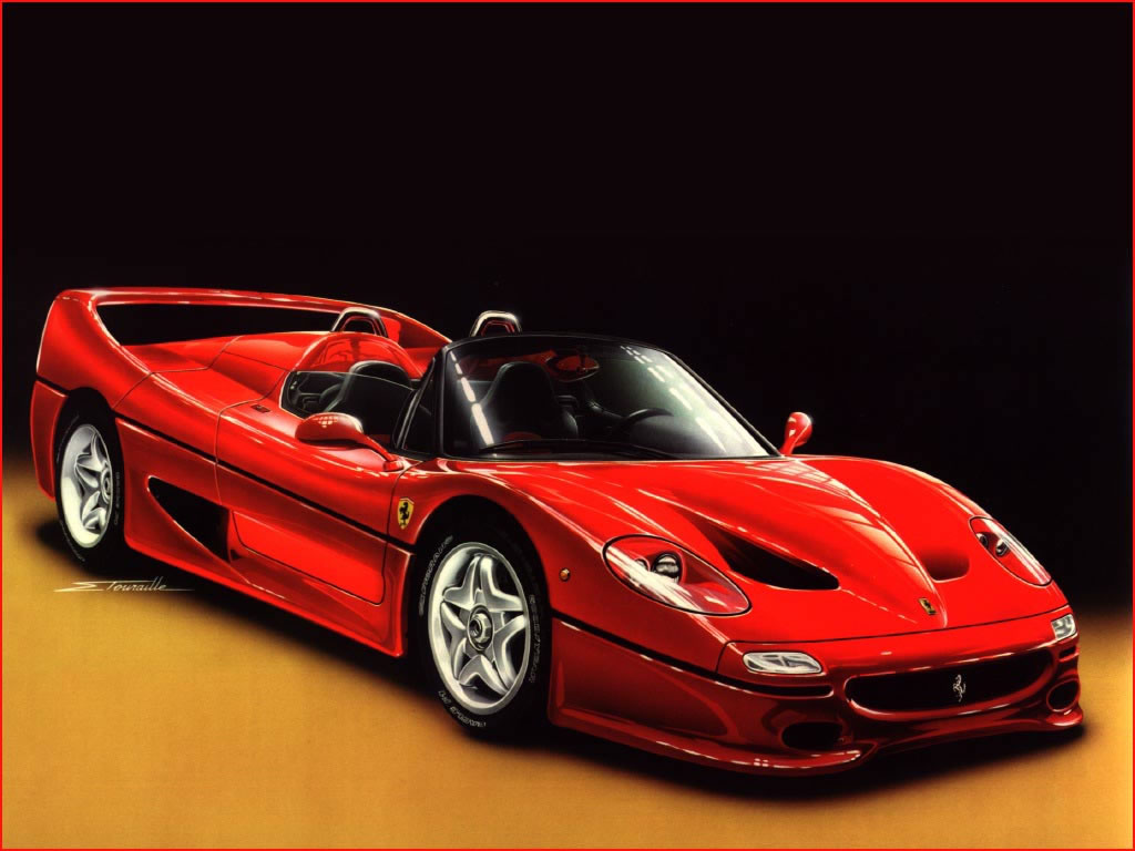 Ferrari F50 Car